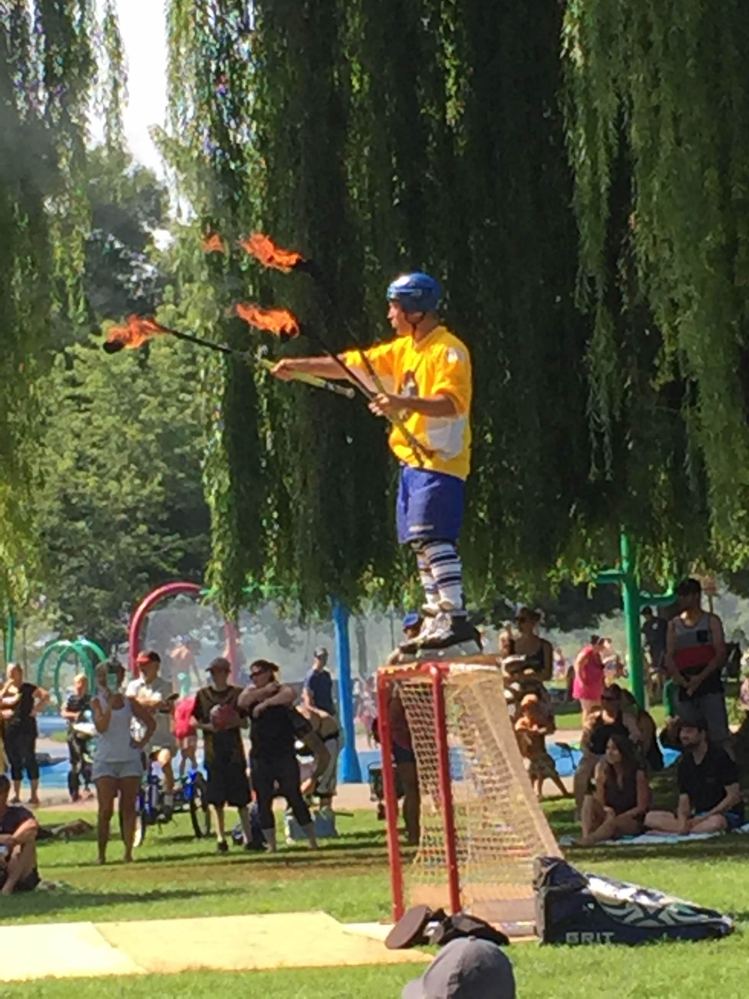 Culture takes many forms at Busker Fest