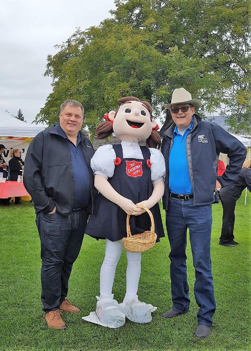 Working with MLA Milobar on Overlander's Day