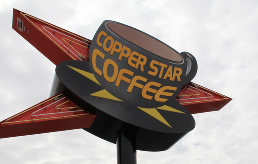 Copper Star Coffee - Locally Owned coffee shop. We also offer smoothies, teas, breakfast, brunch, sandwiches, salads, and much more! Stop by and give us a try and you'll see why we have won the Best of Phoenix awards. We have live bands playing on the weekends and some of the most creative people as customers and staff, come spend time with us and support these wonderful people.4220 N 7th Ave, Phoenix, AZ 85013 / (602) 266-2136
