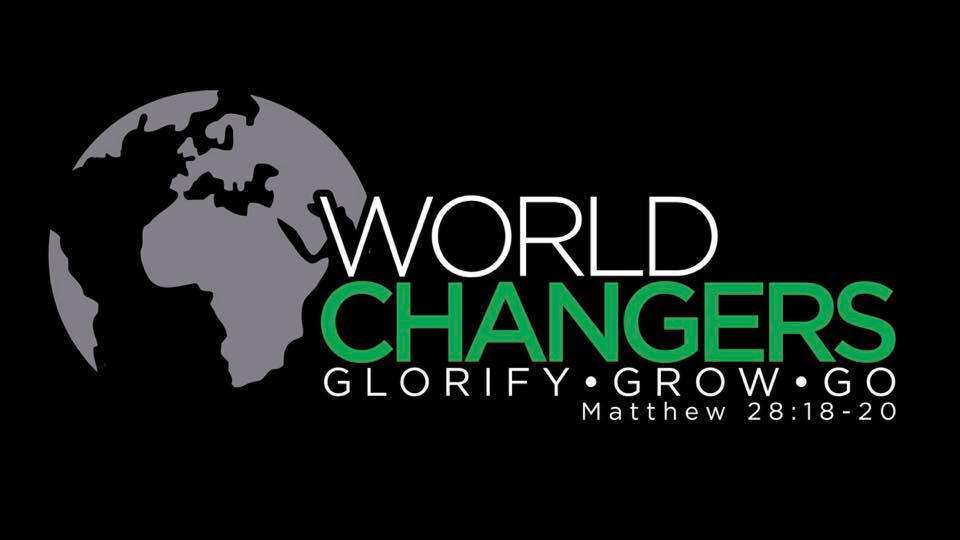 WORLD CHANGERSWEDNESDAYS @ 7 PM - World Changers is a weekly meeting of middle and high school students to learn about God's Word and grow in godliness. Join us on Wednesdays at Slater Baptist Church.Learn more