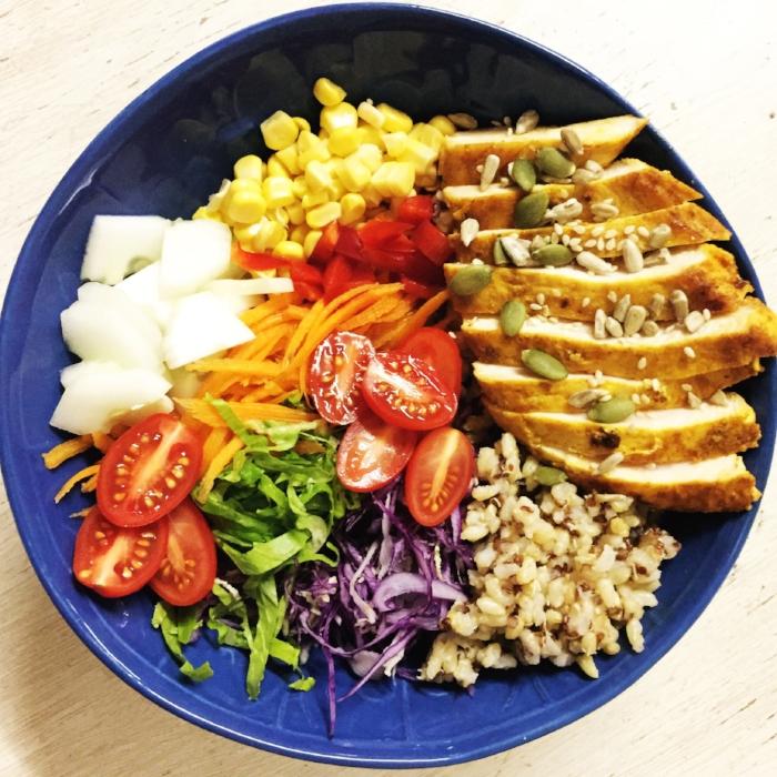 Spicy chicken salad.JPG