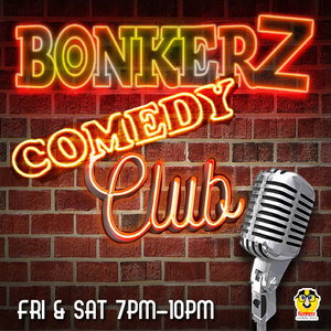 """Bonkers Comedy - """"Priceless Laughs, For Less Price""""Join a wild bunch of funny people from around the globe every week in the Star Bar theatre for 75 mins of non-stop laughs, for a price that won't send you to the poor house.New Special Guest MC & funny line up each week featuring the classic sounds of DJ Donte D1!Dinner, Drink and Discount Parking Packages Available.PURCHASE TICKETS HERE"""
