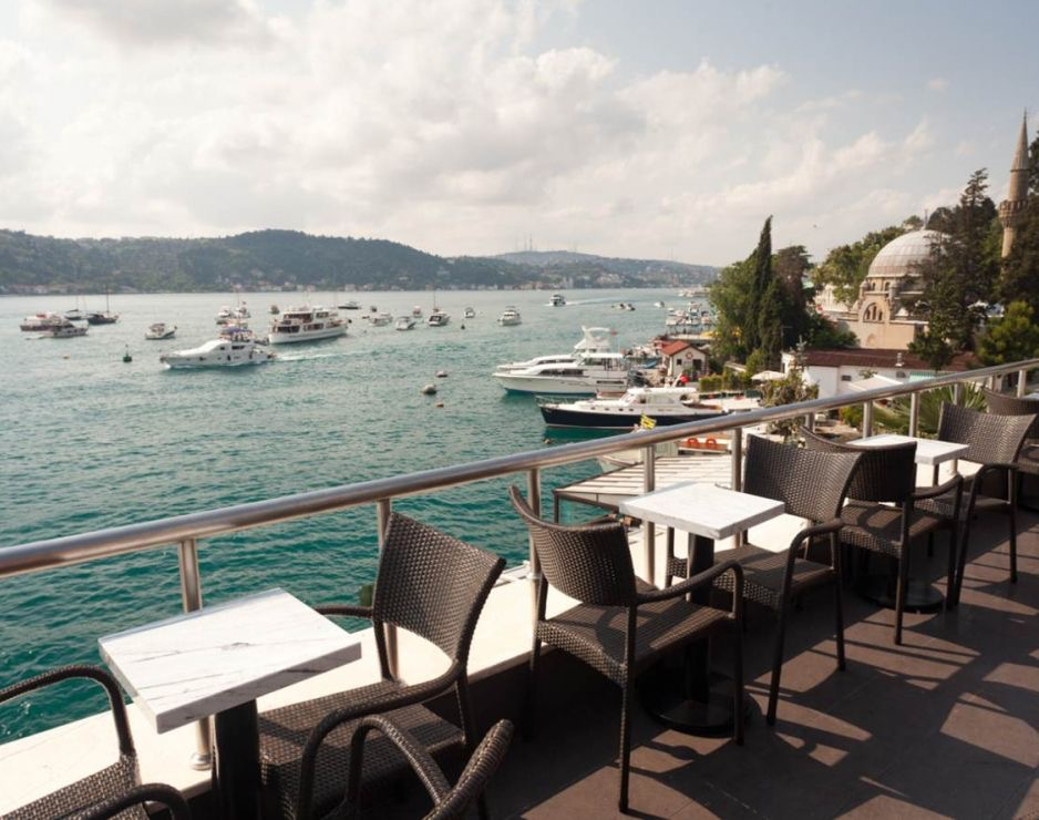 View from the rooftop of a Starbucks in Bebek, Turkey   Source: news.starbucks.com
