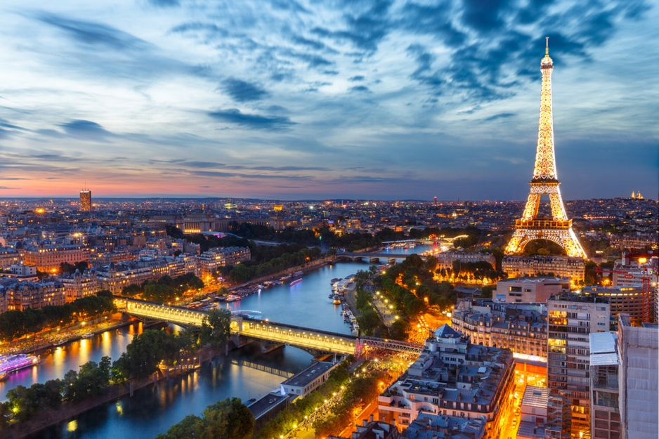 Photo of the Eiffel Tower in Paris