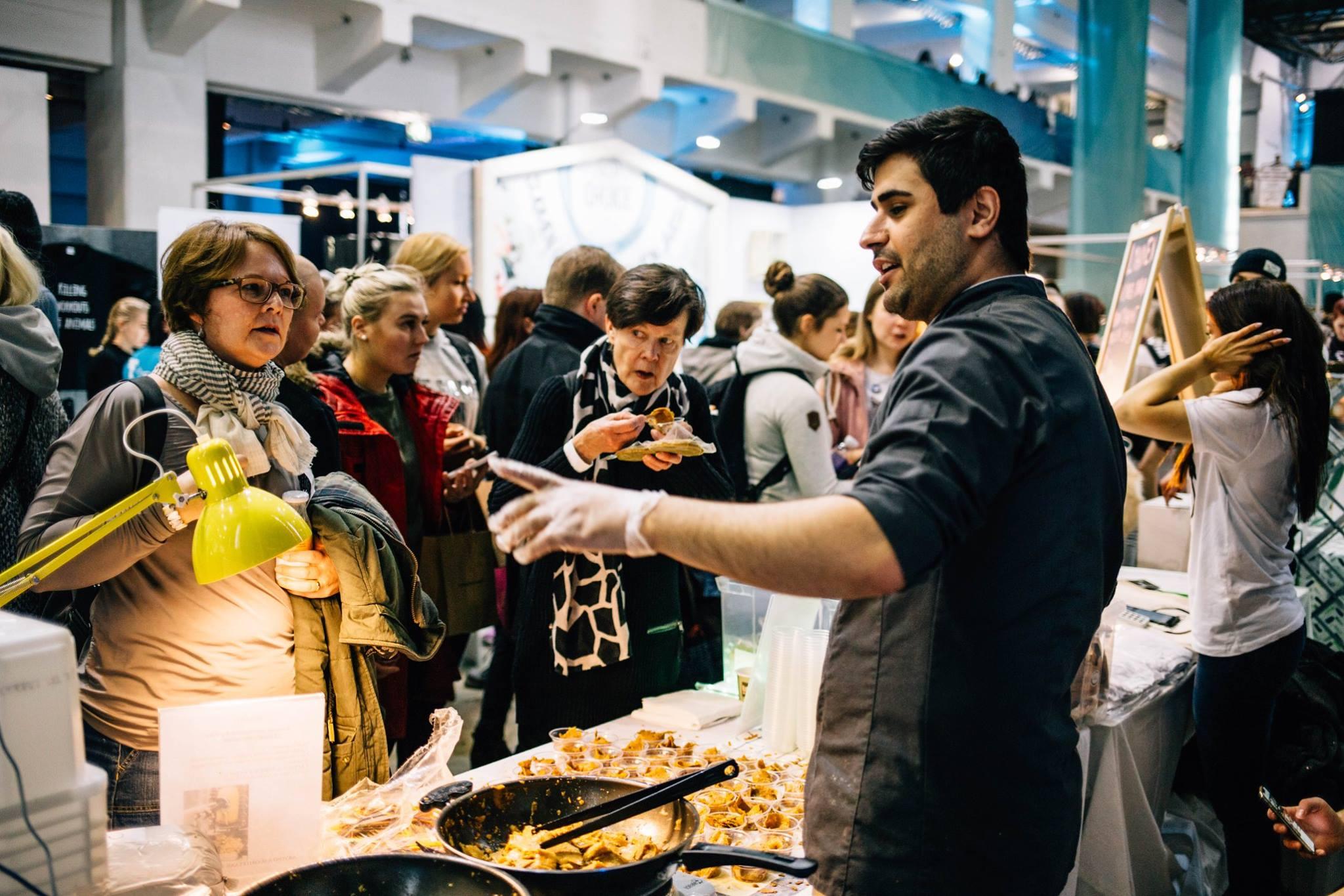 Yli 8000 ihmistä vieraili Suomen suurimmassa kasvisruokatapahtumassa! -