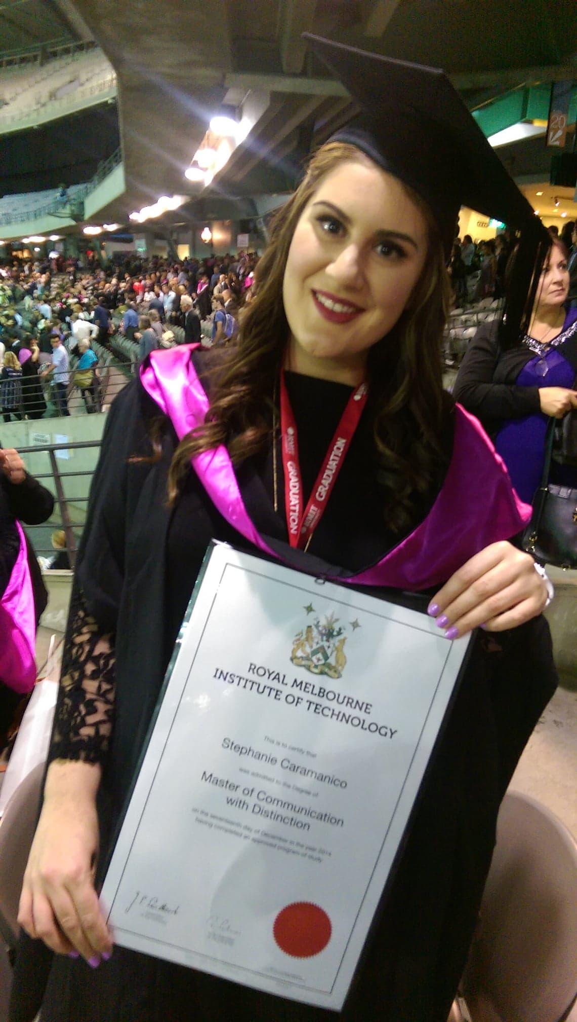 RMIT Graduation, 2014