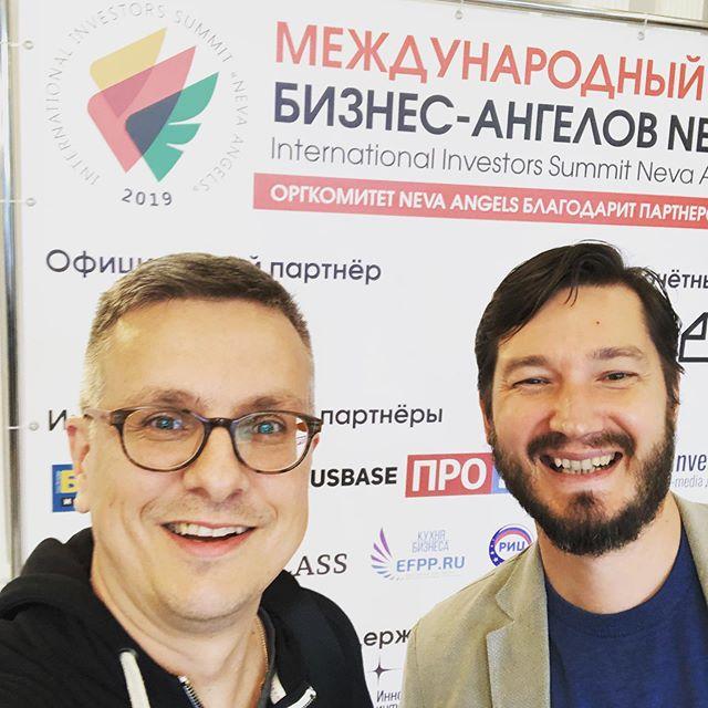 Look how fun it is to meet Russian Investors! #digirockstars