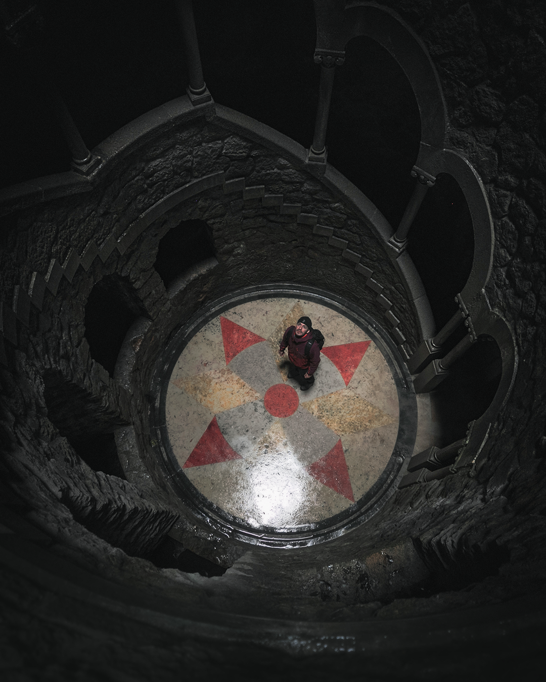 Sintra Initiation Well Regaleira Cody Exploringwithcody Flipabroad