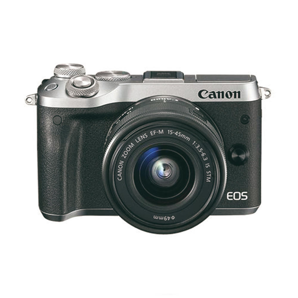 CANON M6 - WITH KIT LENS 15-45MM