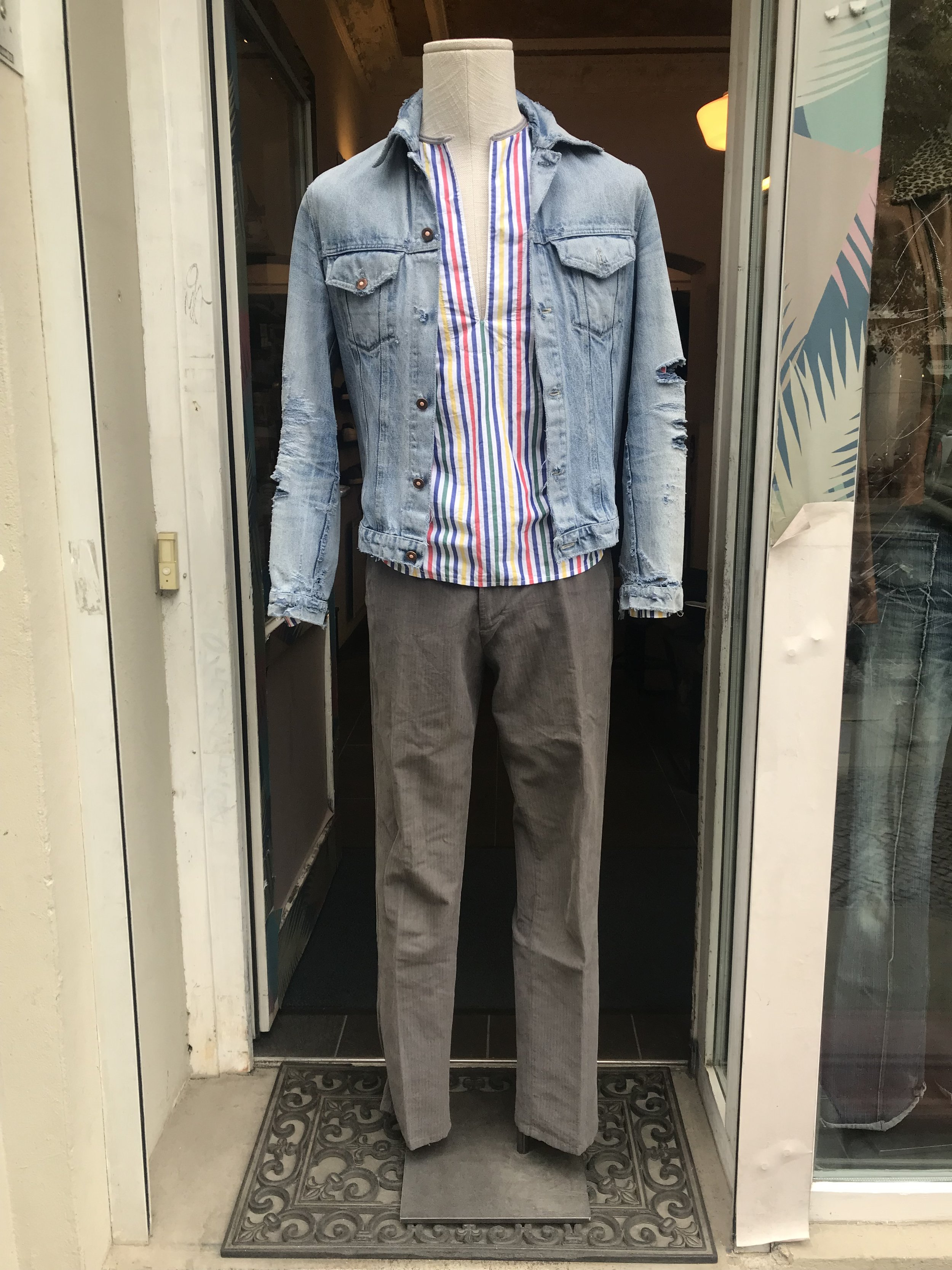 Stefan´s  Director´s Cut  very 1st jeans jacket from 1996/Ove´s  Gossip67  shirt from 1999