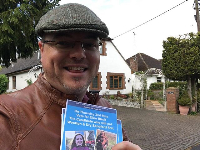 Wonderful to be out supporting @uk_ccf @conservatives candidates for the #localelections #torycanvass