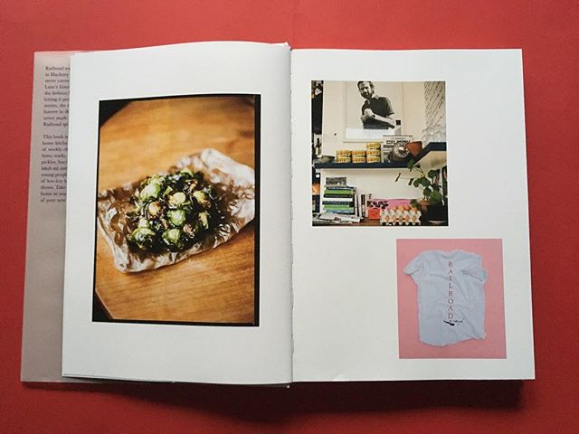 Because we wrote the book when Railroad was already gone, we had to call on friends who had pics from back in the day. One of them was  @brianwferry who had taken some interior shots on a stormy summer's day in 2011. Spot them in these spreads 📸 . . .  #railroadcookbook #railroadforever  #cookbook  #hackney #hackneyhistory  #hackneysfinest  #interiors #cooking #cook #cookbook