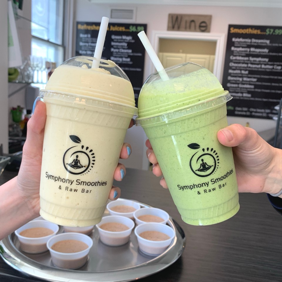 Smoothies for two