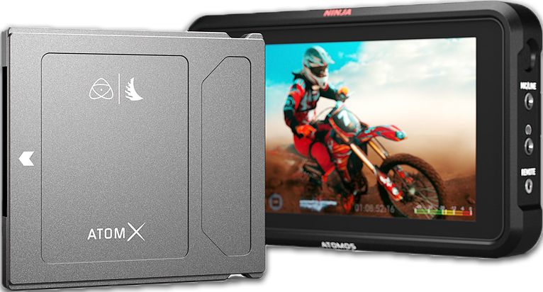 ninja v + 500gb ssd - External recorder and monitor of choice. I love to have a good screen when i record talking head videos or to see properly what i'm recording outside. paired with Angelbird 500gb ssd.