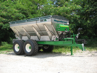 MagnaSpread 14' or 16' Tandem Axle Fertilizer Lime Spreader - MagnaSpread 14' or 16' Tandem Axle Fertilizer Lime Spreader - High Capacity - Pull Type - Distribution of Granular Fertilizer or Lime - Option Rich - Customized for your specific application - Advanced Technology for the most sophisticated farmer! Spreads Lime at up to 2 TONS per acre at 14 mph with a 60' swath - Spreads Fertilizer in 80' PLUS swaths!
