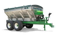 MAGNASPREAD - Efficiency and value define BBI's granular fertilizer and lime spreader optimized for precision agriculture. The industry leader in cost-in-use, MagnaSpread throws material in flat-spread patterns at up to 90-foot swaths!