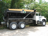 ROCKBODY - Optimized at every turn for the tough jobs that meet infrastructure needs, BBI's RockBody features optional in-cab controls that make it easy to operate. This low-maintenance spreader handles rock, gravel, sand, salt, and aggegate materials with equal efficiency and precision, a hallmark of all of BBI's spreaders. Bring the best spreader to your infrastrucure with BBI's RockBody, ideal for precision road topping.