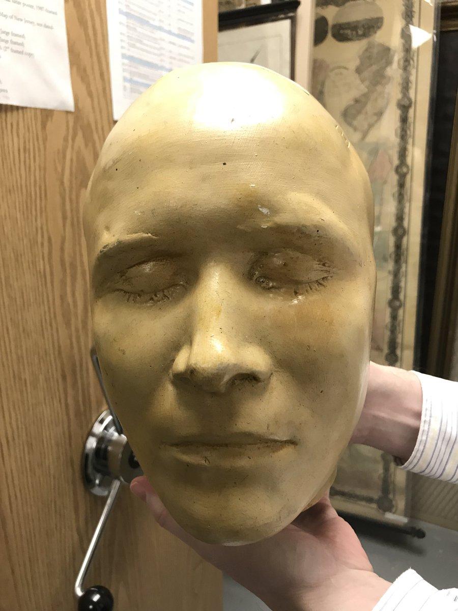 Le Blanc death mask