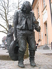 See. He got his own statue in Nuremberg, Germany