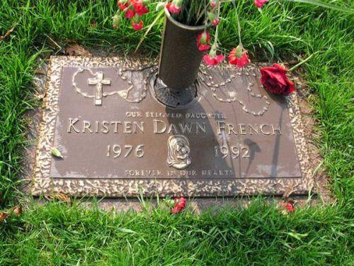 Kristen's final resting place