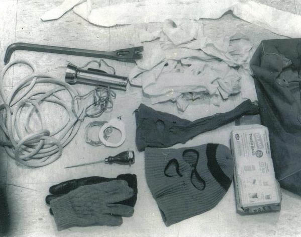 Bundy's kill kit. Thaaaaats's terrifying.