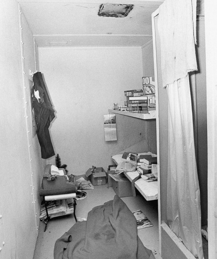 Bundy's Cell. You can see the hole in the ceiling.