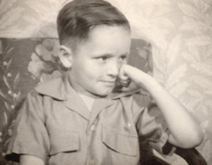 Manson at 5-years-old