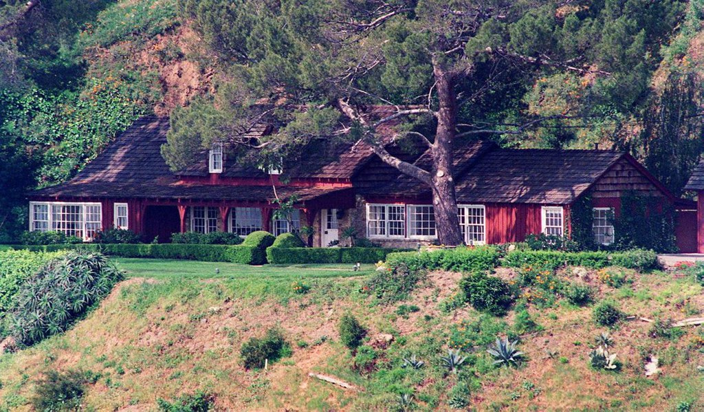 Roman Polanski and Sharon Tate's House, 1969
