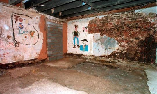 Yea…that's terrifying. 25 Cromwell Street basement