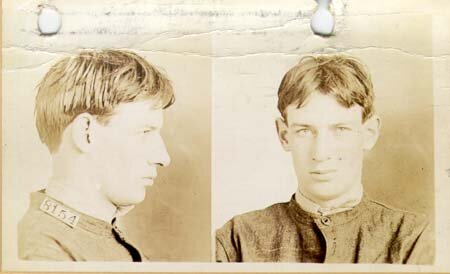 Robert Stroud. 1911 mugshot