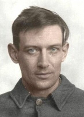 Robert Stroud. Mugshot from arrival at Leavenworth.