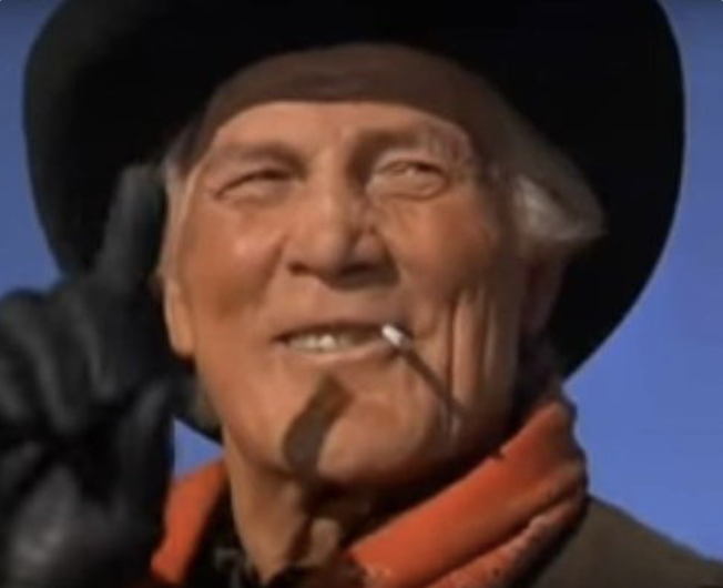 Curly (Jack Pallance) revealing the secret of life in The City Slickers (1991)
