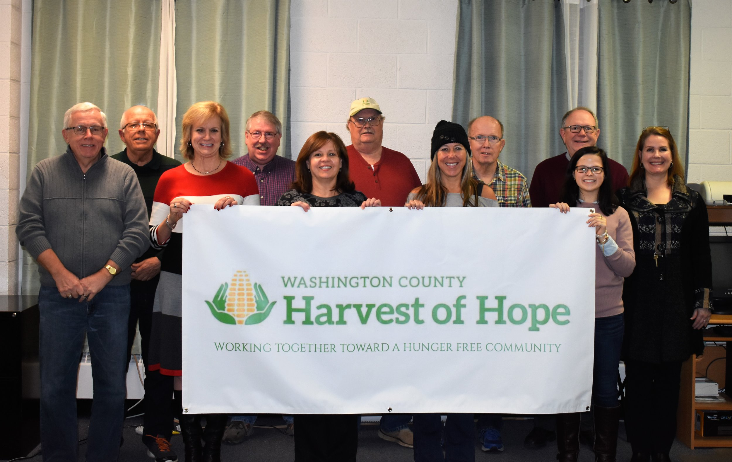 Front row left to right: Bill Standish, Michele Marra, Chris Green, Erin Combs, Abbie Leslie  Back row left to right: Steve Porter, Ron Hazelton, Dave Rogers, Ernie Gath, Mark Nutter, Anne Smith  Not pictured: Heather Kincaid, Kim Betz, Doug Beymer, Judy Gilham, Jim Lopreste
