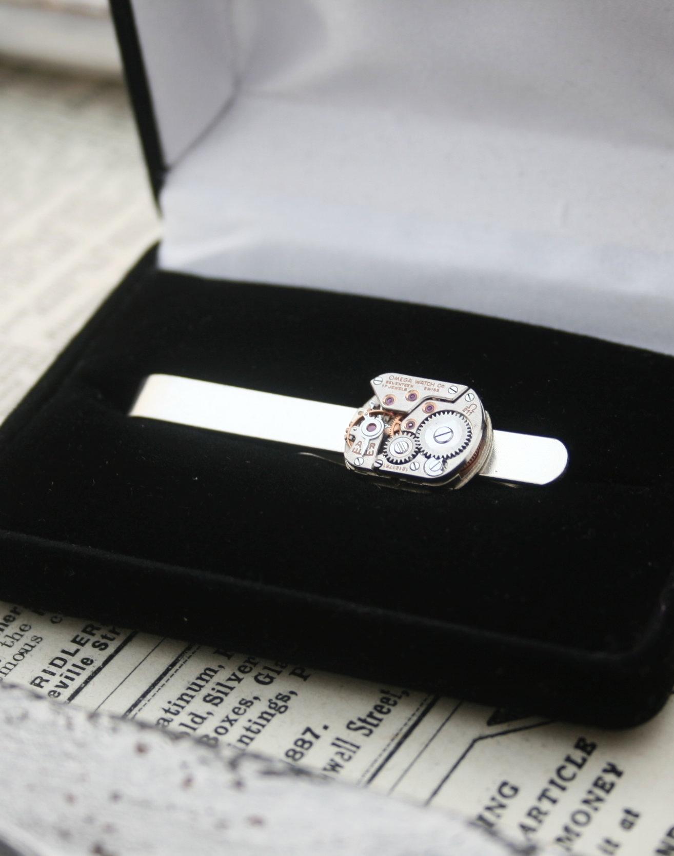 Omega Watch Tie Clip