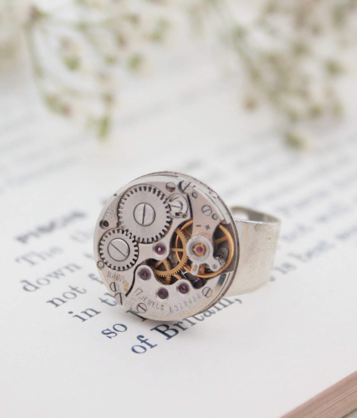 mens pinky ring / signet