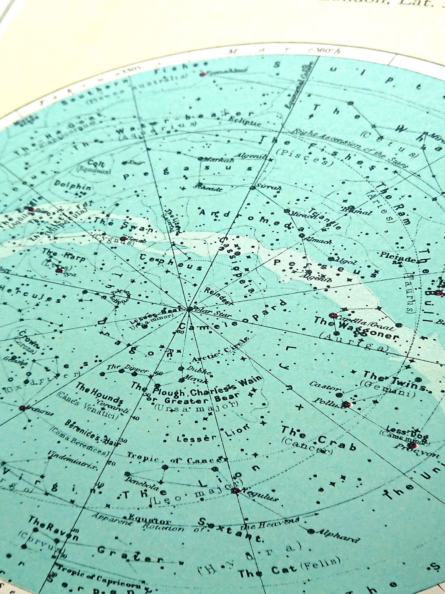 heavens map / star constellations jewellery
