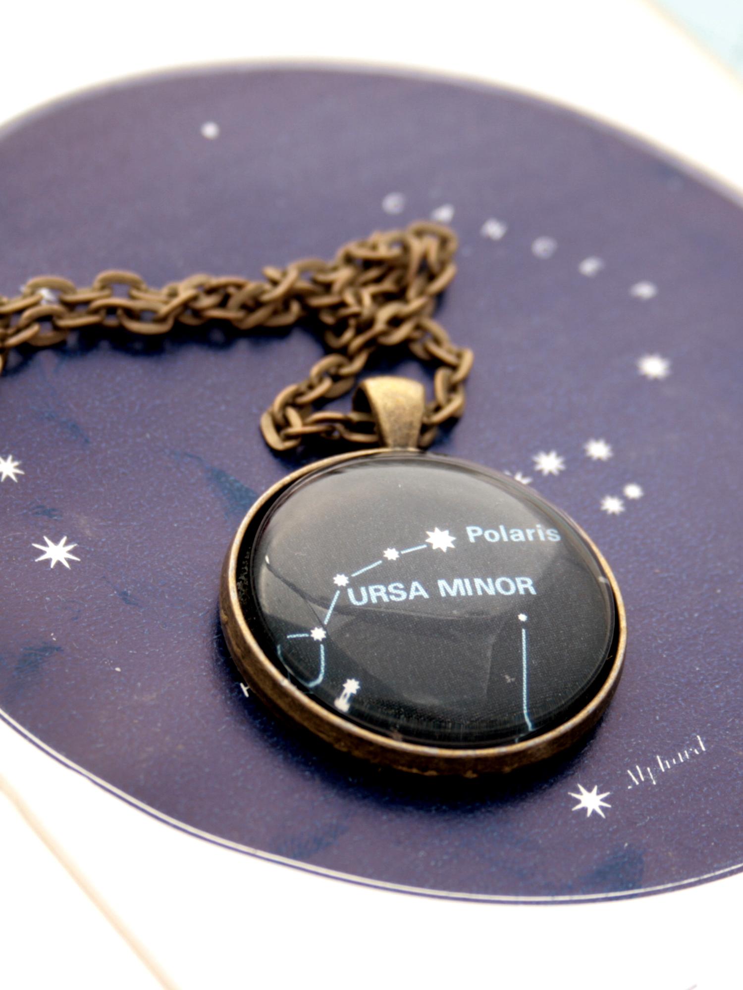 Ursa Minor necklace