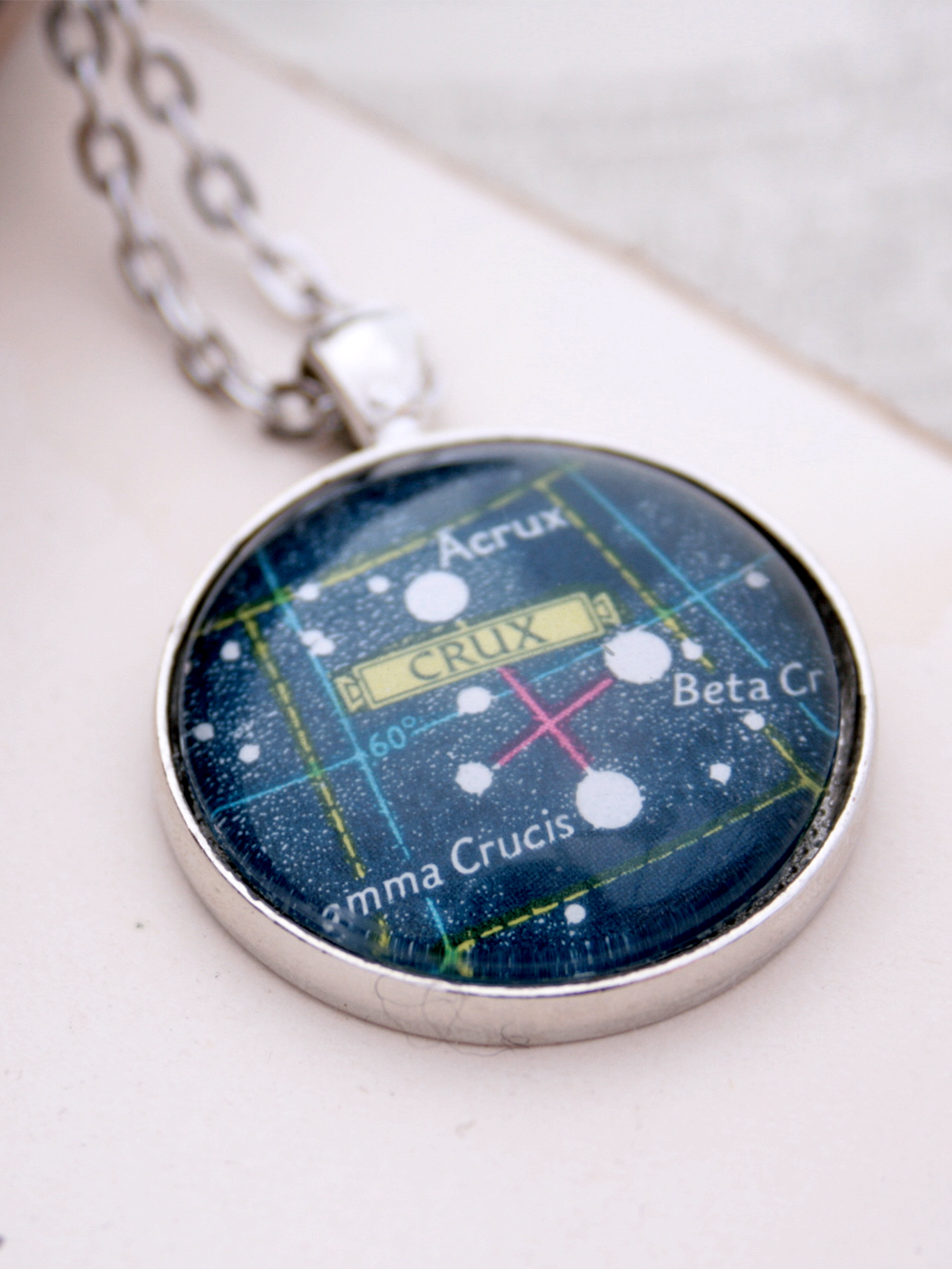 Crux constellation necklace