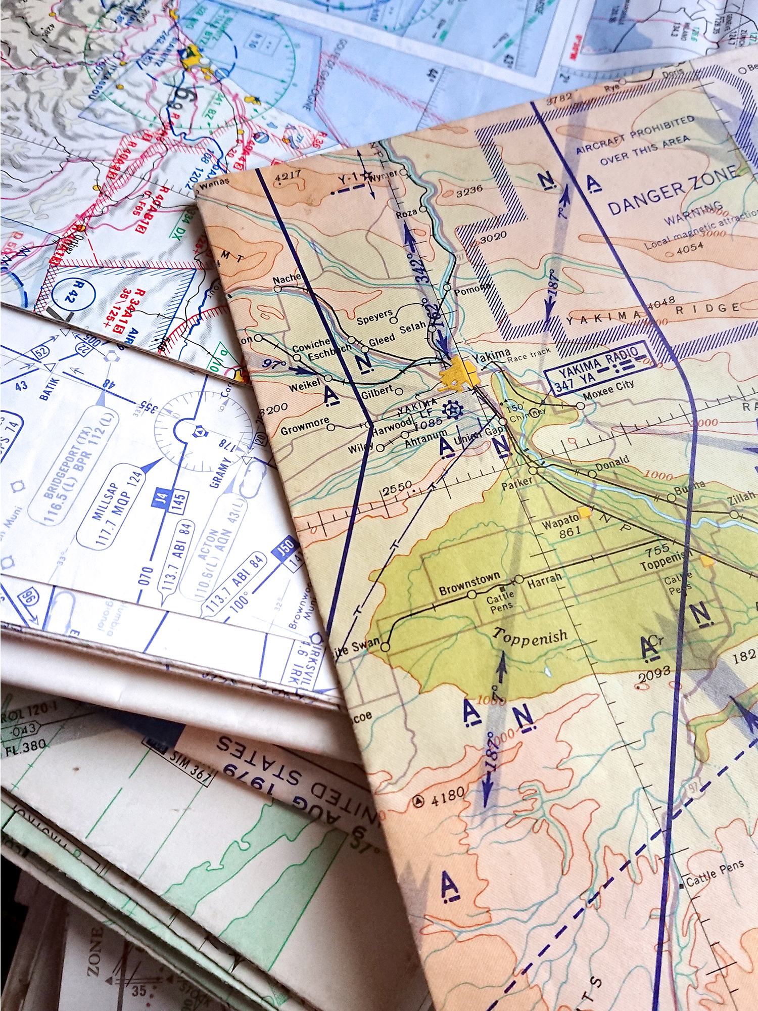 pilots charts for bespoke map jewellery and cufflinks