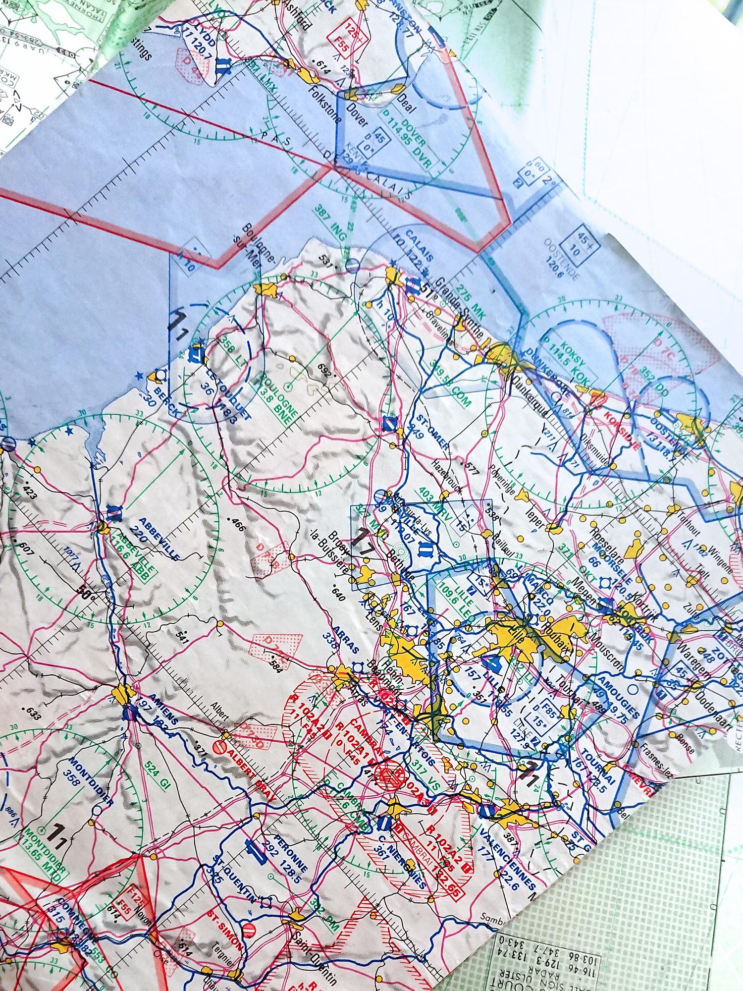 aviation charts pilots maps