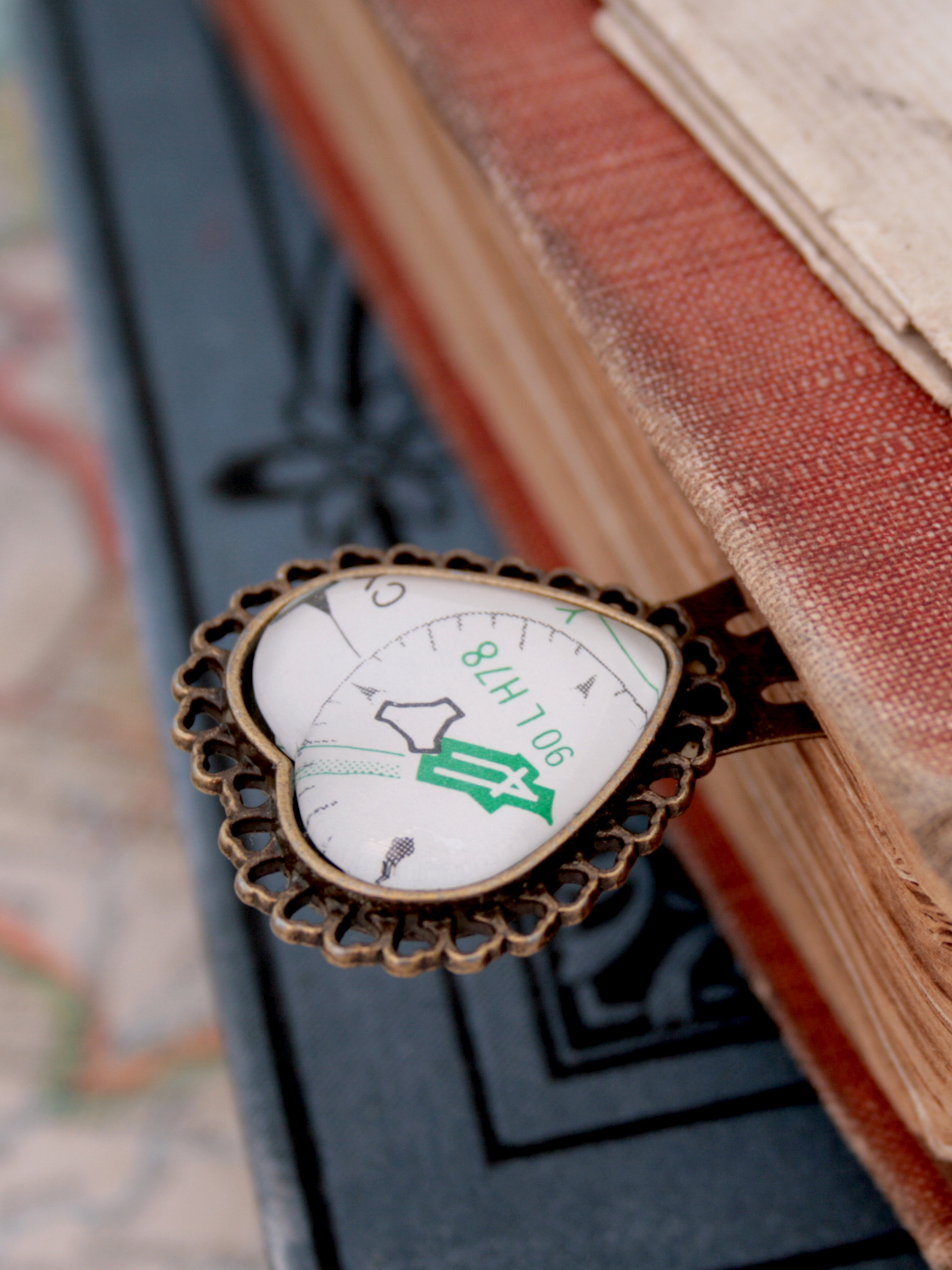 aeronautical chart bookmark little gift for aviation lover