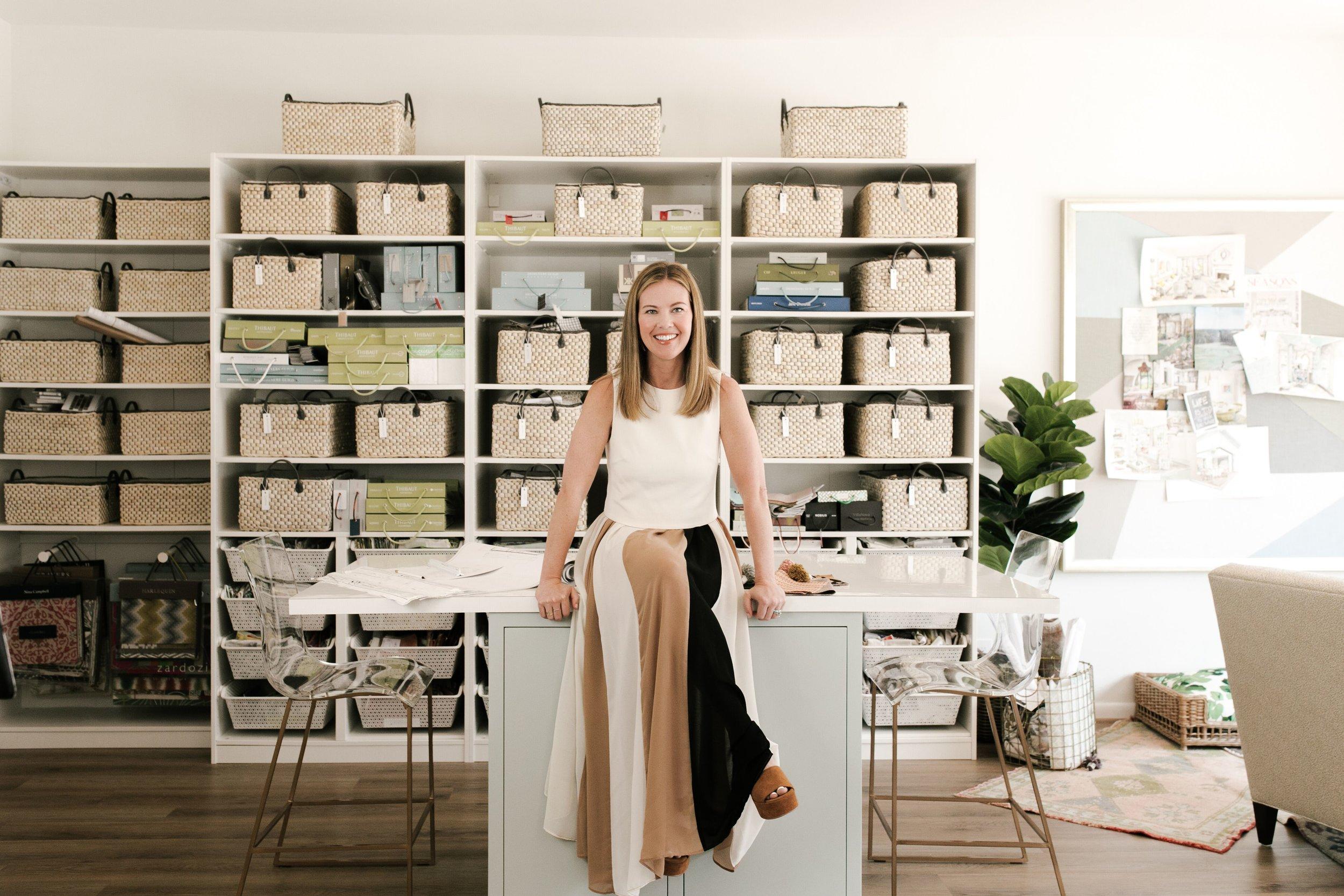 Kara Cox in her Studio