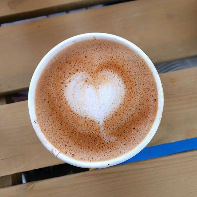 Almere, groentesoup festival #latteart #oatmilkcappuccino #havermelk #veganbarista #veganlatteart