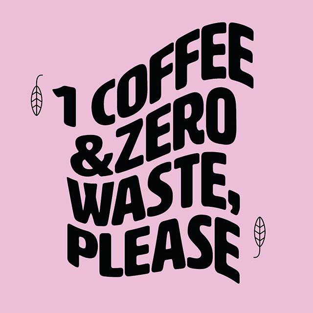 Zero waste is lastig als je met een 'to go' systeem werkt. Toch is dit wel onze gedachtengang.  Om in het thema te blijven gebruiken we alleen composteerbare bekers en deksels gemaakt van bioplastic. Dat is geen oplossing voor het plastic afval probleem, maar wel een stap in de goede richting tegen de productie ervan. 💚♻️ P.S. Neem je eigen beker mee en krijg korting!