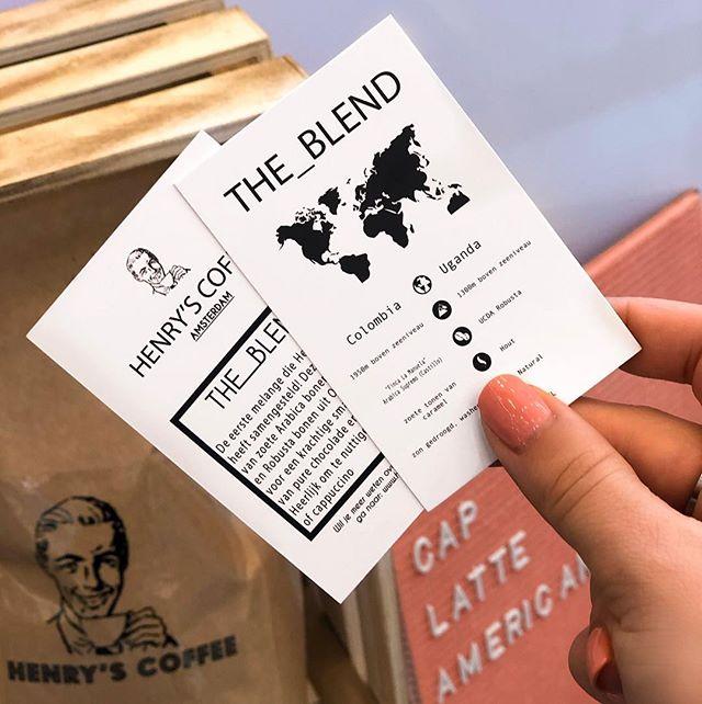 De koffiebonen die wij gebruiken zijn van Henry's Coffee uit Amsterdam. Een fijne blend van bonen uit Colombia en Uganda. Door de zoete tonen van karamel is het lekker om te drinken als espresso of natuurlijk in combinatie met een van de plantaardige soorten melk!  Wil je er meer over weten? Kom dan snel langs om een kopje koffie te drinken ☕️💚