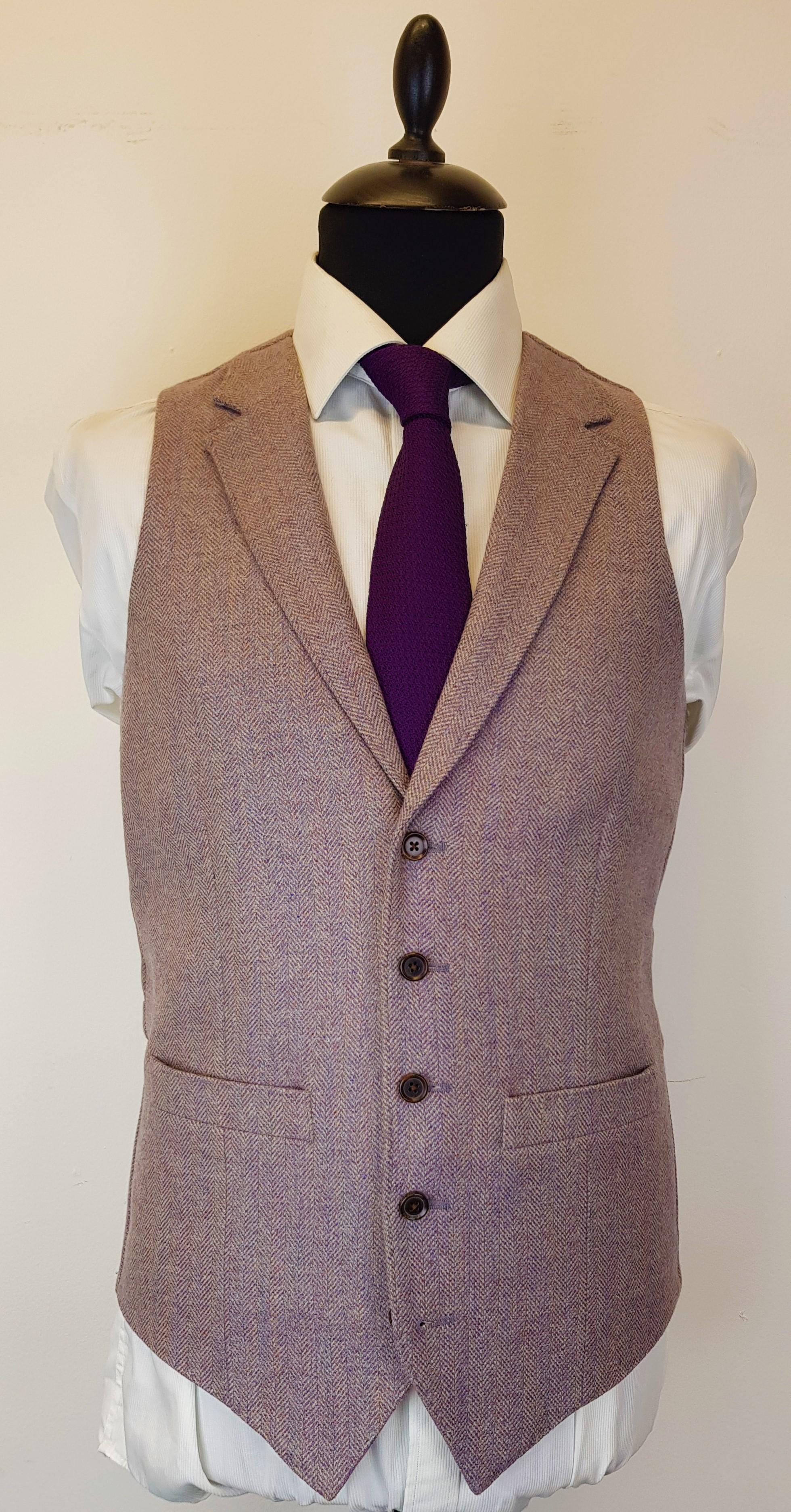 Lavender Tweed Waistcoat (5).jpg