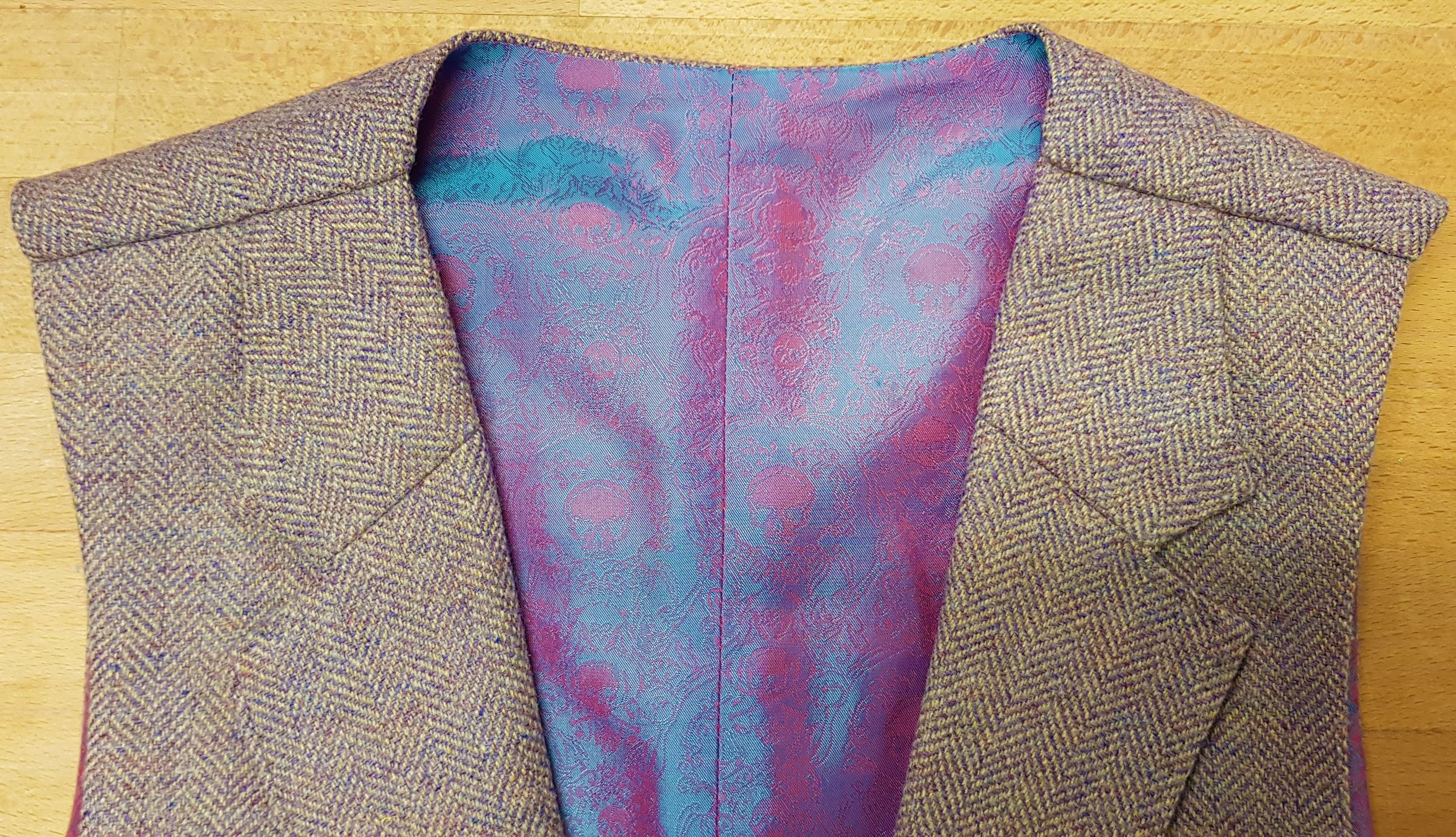 Lavender Tweed Waistcoat (4).jpg