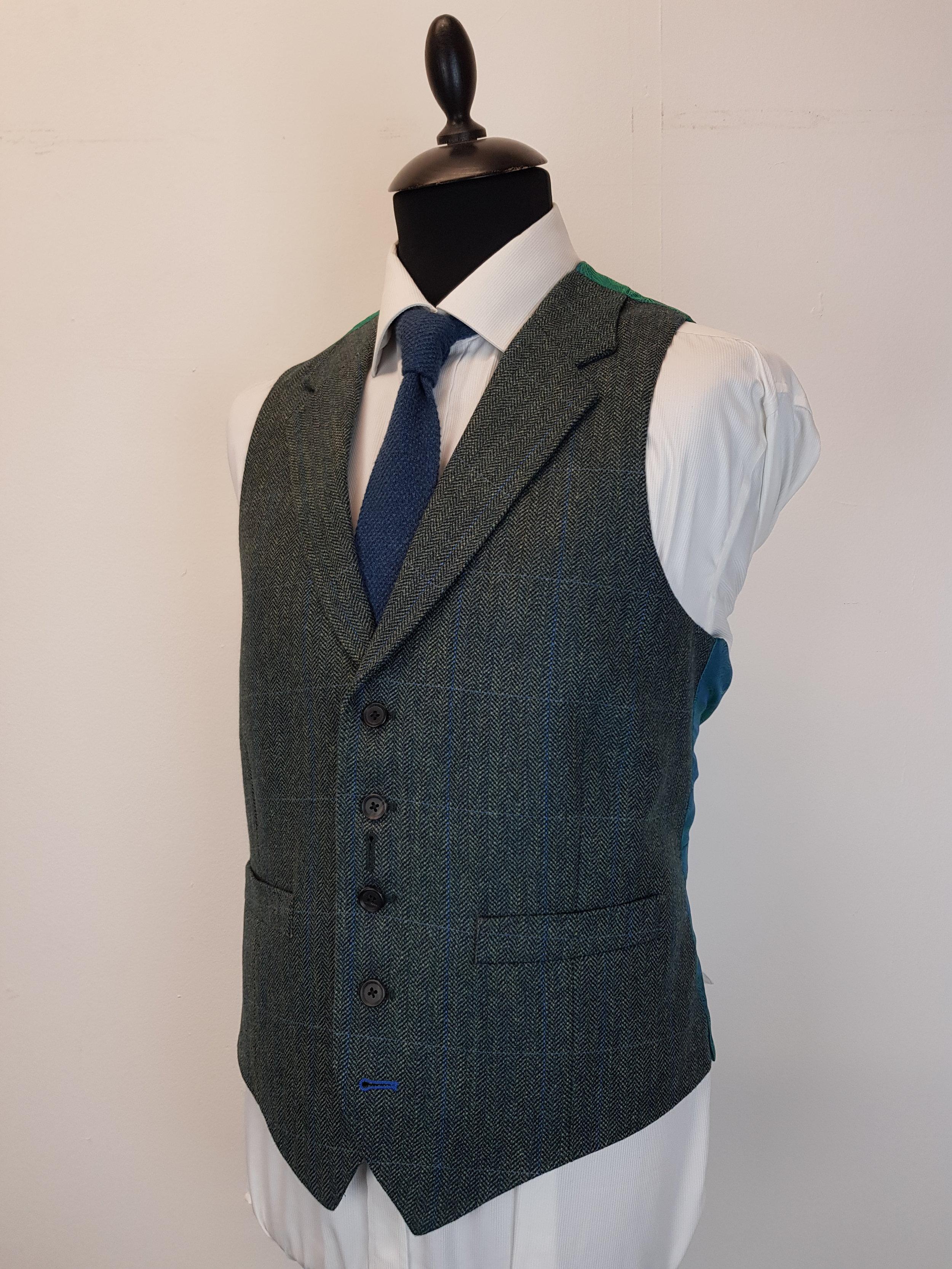 3 Piece Herringbone and check tweed suit (3).jpg