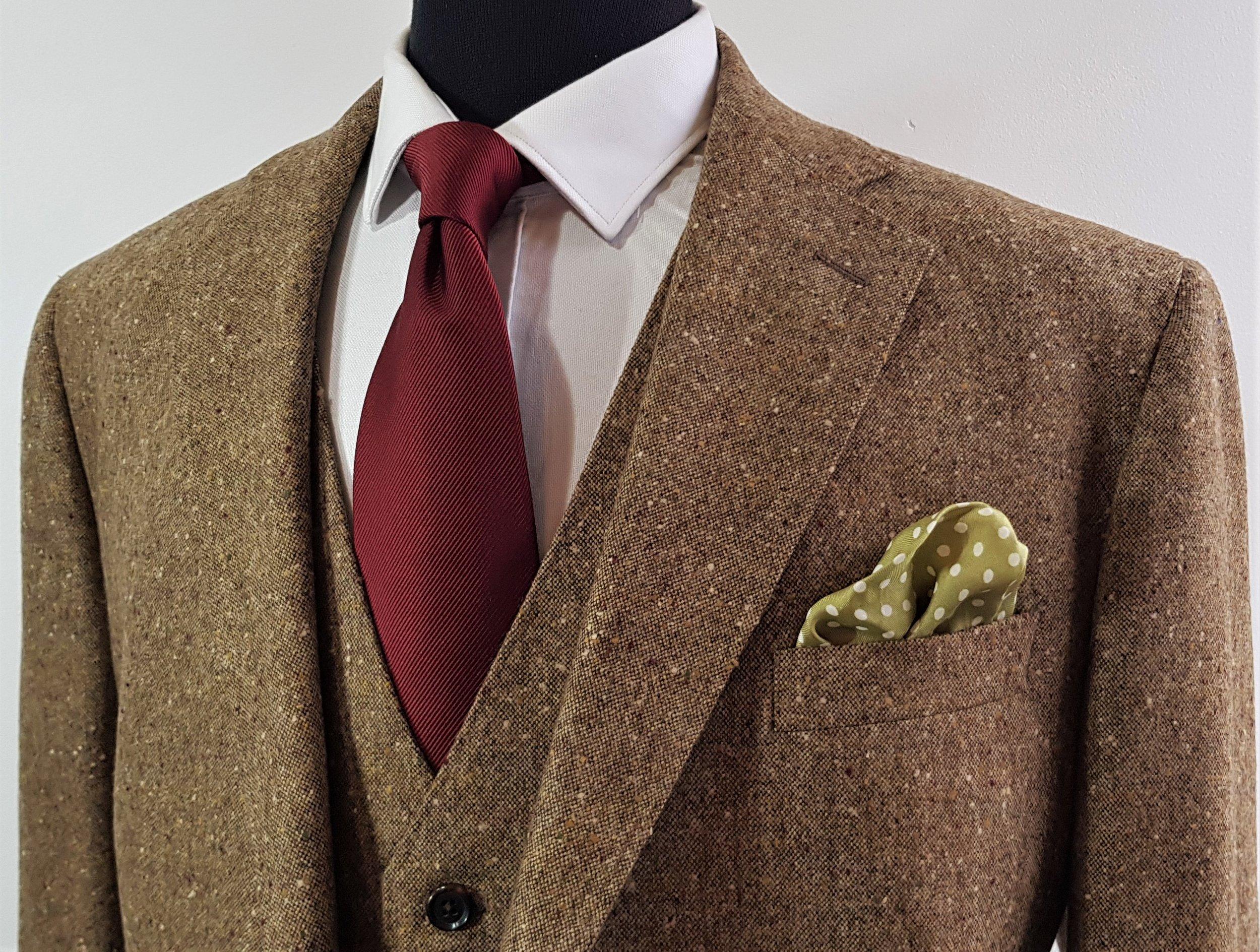 Brown Donegal 3 piece tweed suit (6).jpg