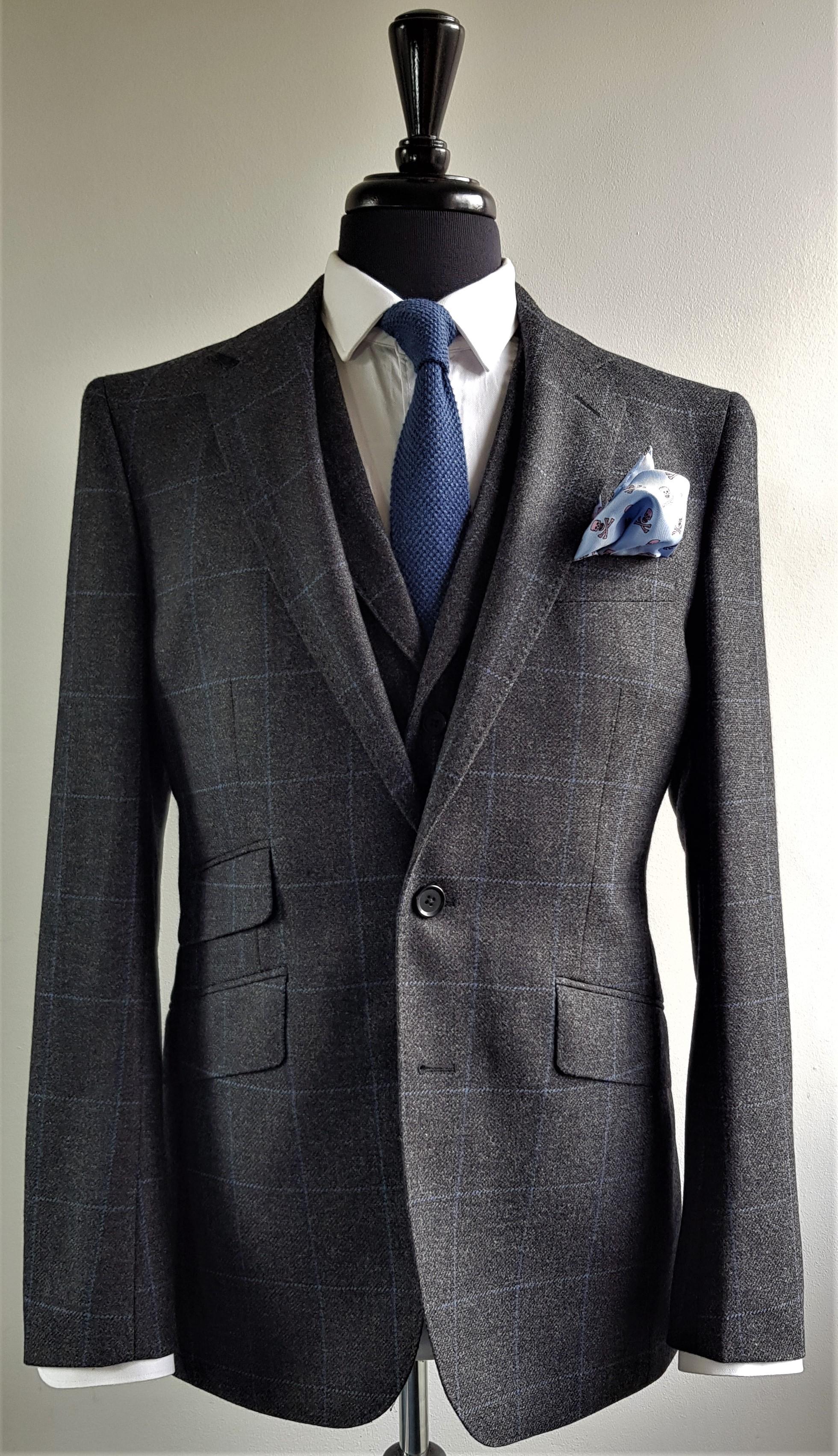 Grey Blue 3 Piece Tweed Suit (5).jpg